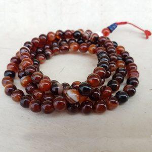 agate mala rosary