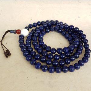 lapis lazuli mala rosary