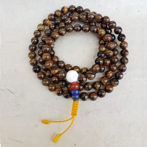 tiger eye mala rosary