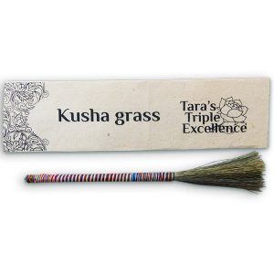 kusha grass cleansing offering