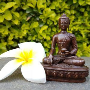 Buddha Shakyamuni statue copper