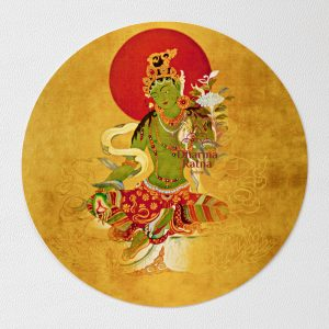green tara sticker decal