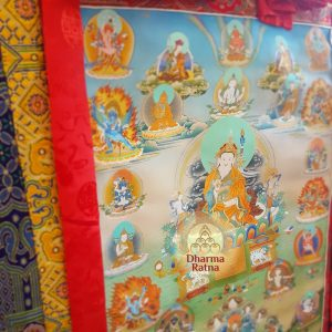trinle nyingpo thukdrub barche kunsel refuge tree chokling tersar guru rinpoche padmasambhava 12 manifestations thanka