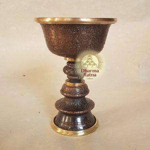 copper marme butterlamp cup