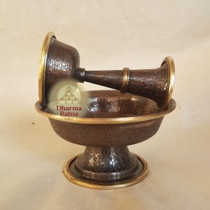 serkyem copper offering cup